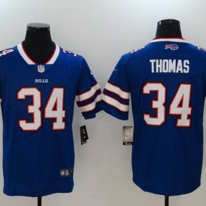 Men's Buffalo Bills 34 Thurman Thomas jersey